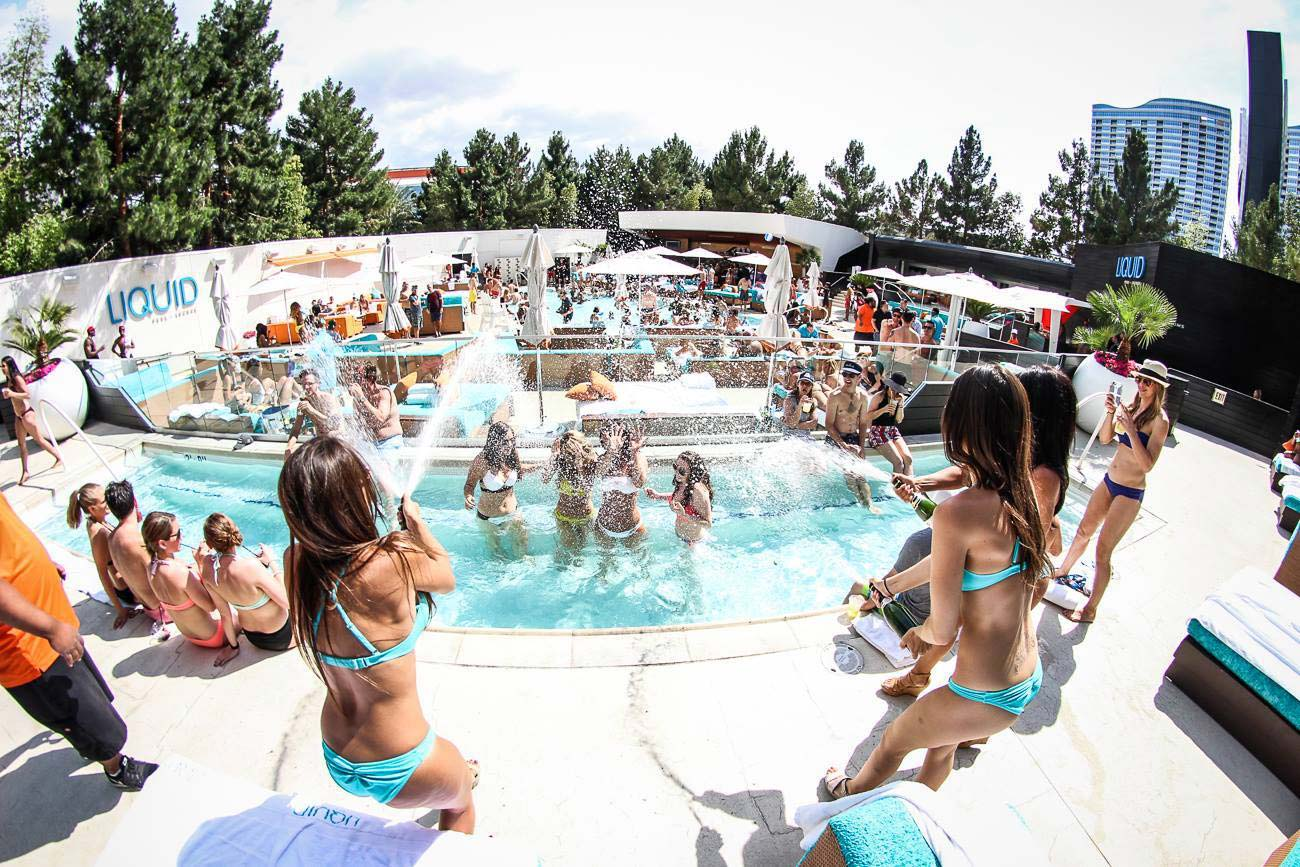 Liquid Pool Lounge Cabana Prices & Bottle Service Prices