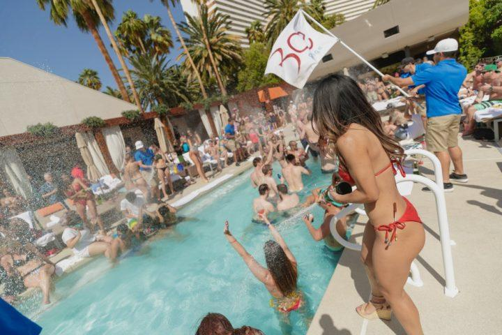 Bare Pool Lounge Cabana Prices and Bottle Service Cost in Las Vegas Mirage